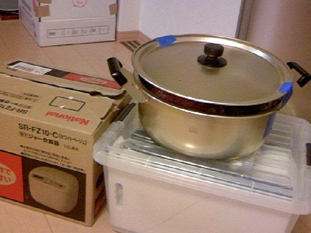 鍋は必須アイテム